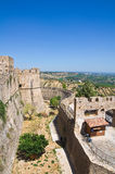 Swabian Castle of Rocca Imperiale. Calabria. Italy. Stock Photos