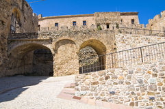 Swabian Castle of Rocca Imperiale. Calabria. Italy. Royalty Free Stock Photo
