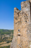 Swabian Castle of Rocca Imperiale. Calabria. Italy. Stock Photography