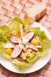 Swabian chicken salad Royalty Free Stock Photos