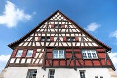 Swabian half-timbered house Stock Photo