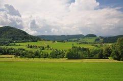 Swabian scenery Royalty Free Stock Photo