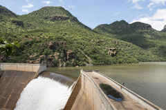 The swadini dam near the blyde river Stock Images