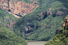 The swadini dam near the blyde river Royalty Free Stock Image