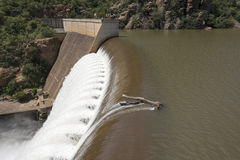 The swadini dam near the blyde river Stock Image