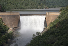 The swadini dam Royalty Free Stock Photography