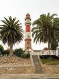 Swakopmund Lighthouse - la Namibia Fotografia Stock