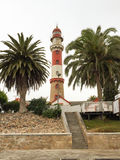 Swakopmund Lighthouse - Namíbia Foto de Stock