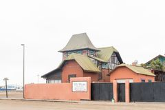 Villa Wiese Backpackers Lodge in Swakopmund Stock Images