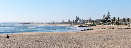 Swakopmund panorama 1 Royalty Free Stock Photos