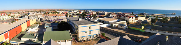 Swakopmund panorama 2 Stock Photography