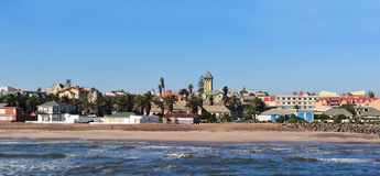 Swakopmund panorama 3 Royalty Free Stock Images