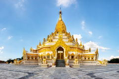 Swal Taw Pagoda Royalty Free Stock Photo