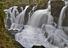 Swallow falls,Betws-y-coed, Snowdonia, North Wale Royalty Free Stock Photos