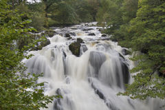 Swallow Falls, Betwys y Coed, Wales Royalty Free Stock Images