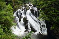 Free Swallow Falls In Snowdonia Stock Photos - 77602583