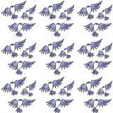 Swallow pattern Stock Photos