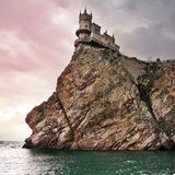 Swallow's Nest. Well-known castle Swallow's Nest near Yalta in Crimea, Ukraine Royalty Free Stock Images