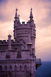 Swallow's Nest. Well-known castle Swallow's Nest near Yalta in Crimea, Ukraine Royalty Free Stock Image