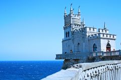 Swallow's Nest. Well-known castle Swallow's Nest near Yalta in Crimea, Ukraine Stock Images
