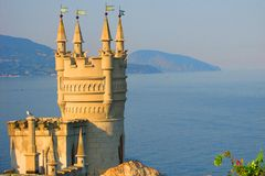 Swallow's Nest Royalty Free Stock Photo