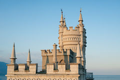 Swallow's Nest Castle. View to Swallow's Nest Castle in crimea Stock Photography