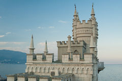 Swallow's Nest Castle Royalty Free Stock Photos