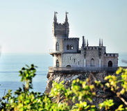 Swallow's Nest Castle. Near Yalta, Ukraine Royalty Free Stock Images