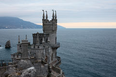 The Swallow's Nest castle Royalty Free Stock Images