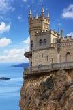 Swallow's Nest Castle, Crimea Royalty Free Stock Images