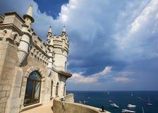 Swallow's Nest Castle, Crimea Royalty Free Stock Photo