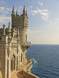 Swallow's nest castle, Crimea Stock Images