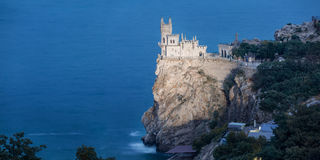 The Swallow`s Nest Castle Stock Photography