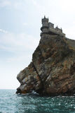 The Swallow's Nest castle Royalty Free Stock Photo