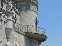 Swallows nest castle. Royalty Free Stock Photo
