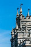 Swallow`s Nest Castle. On the rock in the Black sea stock images