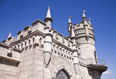 Swallow's Nest Castle in Yalta Stock Images