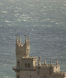 Swallow's Nest Castle--Yalta, Ukraine Royalty Free Stock Image