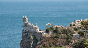 Swallow's Nest, Crimea, Ukraine Royalty Free Stock Images