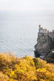 Swallow's Nest, crimea, Ukraine Royalty Free Stock Photography