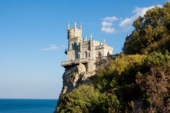 Swallow's nest, Crimea, Ukraine Stock Photos