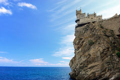 Swallow's Nest. Crimea. Ukraine Royalty Free Stock Photos