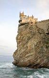 Swallow's Nest in Gaspra. Crimea. Ukraine Stock Images