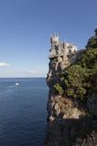 Swallow's nest Yalta Crimea royalty free stock image