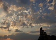 Swallow& x27; s-Nest in Krim Lizenzfreies Stockbild