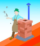 Chimney Sweep Royalty Free Stock Images