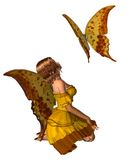 Swallowtail Butterfly Fairy - 2 Stock Image