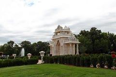 Swami Narayan Hinduska świątynia Fotografia Stock