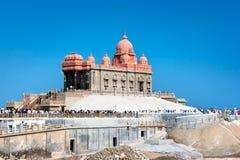 Swami Vivekananda pomnik, Kanyakumari, India Obrazy Stock