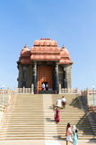 Swami Vivekananda Rock Memorial - a famous tourist monument in V Royalty Free Stock Image